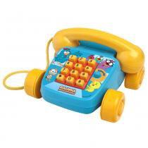 Telefone Infantil - Foninho da Galinha Pintadinhas - Elka - Elka