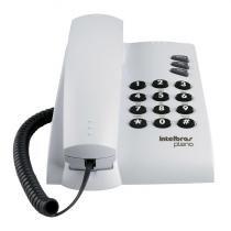 Telefone Intelbras Pleno Cinza Artico S/Chave C/Fio -
