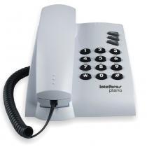 Telefone Intelbras Pleno com Chave 4080058 - Cinza Ártico -