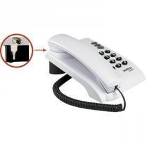 Telefone Intelbras Pleno com Chave - Cinza Ártico -