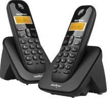 Telefone intelbras sem fio ts3112 preto - 4123102 -
