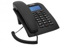 Telefone Intelbras TC60 ID com Identificador de chamadas BINA -