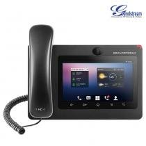 Telefone IP Android Com Vídeo Gigabit POE Bluetooth GXV3275 Grandstream -
