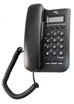 Telefone mesa c/bina preto 46i vec - Vec