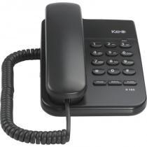 Telefone mesa/parede preto keo 103. - Intelbras