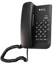 Telefone padrão preto com chave vec - Vec