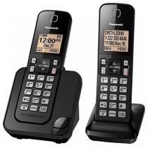 Telefone Panasonic sem fio KX-TGC352 com 2 aparelhos -