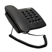 Telefone Plus de Mesa/Parede com Chave Grafite - Unitel - Unitel