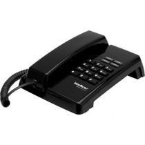 Telefone Premium Preto Com Fio Sem Identificador Tc50 Intelbras -