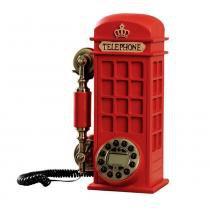 Telefone Retrô Cabine Inglesa Grande - Zgp