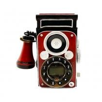 Telefone Retrô Vermelho - Zgp