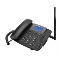 Telefone rural intelbras CF 6031 3G single chip antena 3 dbi -