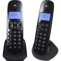 Telefone S/ Fio Digital MRD2 MOTO700 Preto Motorola -