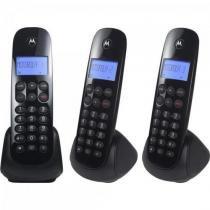 Telefone S/ Fio Digital MRD3 MOTO700 Preto Motorola -