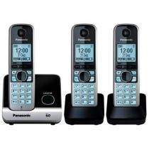 Telefone Sem Fio Base 2 Ramais Kx-Tg6713lbb Panasonic -