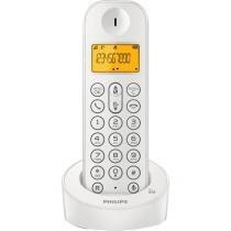 Telefone Sem Fio Branco D1201w-Br Philips - Philips