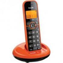 Telefone Sem Fio c/ id de chamada TSF 7600 Laranja - Elgin - Elgin