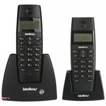 Telefone sem Fio com Base/Ramal Dect 6.0Ghz TS40 Preto - Intelbras - Intelbras