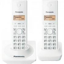 Telefone sem fio com id base + ramal kx-tg1712 branco panasonic -