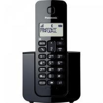 Telefone sem Fio com ID KX-TGB110LBB Preto - Panasonic -