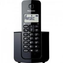 Telefone sem fio com id kx-tgb110lbb preto panasonic - Panasonic