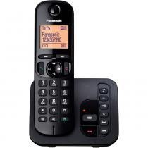 Telefone sem Fio com ID, Secretária e Viva Voz KX-TGC220LBB Panasonic - Panasonic
