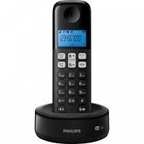 Telefone sem Fio com ID/Secretária/Viva-Voz D1361B/BR Preto - Philips - Philips