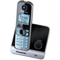 Telefone Sem Fio Com Identificador Kx-Tg6711lbb Panasonic -