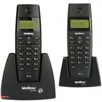Telefone sem Fio com Identificador + Ramal TS40C Preto - Intelbras - Intelbras