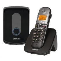 Telefone Sem Fio com Ramal Externo Intelbras Preto - Intelbras