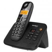 Telefone sem Fio com Secretária Eletrônica Preto TS3130 - Intelbras - Intelbras