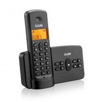 Telefone sem Fio com Secretária Eletrônica TSF800SE Preto- Elgin - Elgin