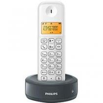 Telefone Sem Fio D130 Branco Cinza Cordles Philips- D1301WG BR - Philips