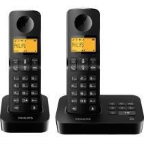 Telefone Sem Fio Dect 6.0 1.9 Ghz Philips -