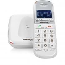Telefone sem Fio Dect 6.0 Identificador de Chamadas TS63V - Intelbras - Intelbras