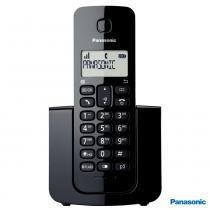 Telefone Sem Fio DECT 6.0 KX-TGB110LBB 1.9 GHz Preto - Panasonic -