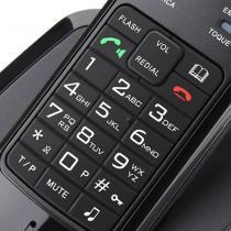 Telefone sem Fio DECT com Viva-Voz - Elgin - Elgin
