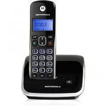 Telefone Sem Fio Digital Auri 3500 10555 Preto e Prata Motorola -
