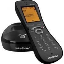 Telefone sem fio digital com identificador de chamadas viva voz ts8220 preto intelbras - Intelbras