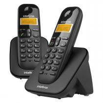 Telefone Sem Fio Digital Id Com Ramal Preto Ts3112 Intelbras -