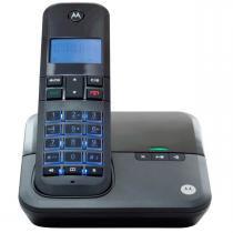 Telefone Sem Fio Digital Moto 4000SE Preto Motorola -