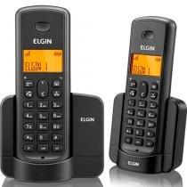 Telefone Sem Fio Elgin Com identificador de Chamadas e Ramal TSF-8002 Preto -