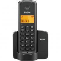 Telefone sem Fio Elgin com Identificador e Viva Voz Dect 6.0 TSF 8001 Preto -