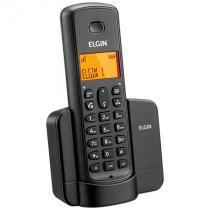 Telefone sem fio elgin dect 6.0 com id/ viva voz e alarme -