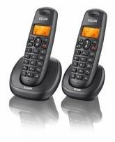 Telefone sem Fio Elgin TSF 7002, Preto, Dect 6.0, Suporta até 4 Ramais, Viva voz - Elgin