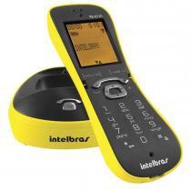 Telefone sem Fio Identificador de Chamadas TS8220 Amarelo - Intelbras - Intelbras