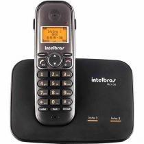 Telefone Sem Fio Intelbras Com Entrada Para Duas Linhas TS 5150 - Preto -
