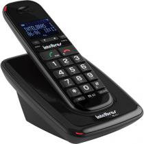 Telefone Sem Fio Intelbras TS 63 V Preto Viva Voz - IntelBras