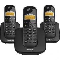 Telefone Sem Fio Intelbras TS3113 Com Identificador De Chamadas 2 Ramais - Intelbras