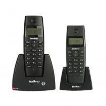 Telefone Sem Fio IntelBras TS40C Preto, com Ramal Adicional e Identificador de Chamadas - 4070351 -